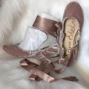 Sam Edelman balerina velvet